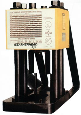 Weatherhead T 400 1 1 4 Quot Hose Crimper Reconditioned